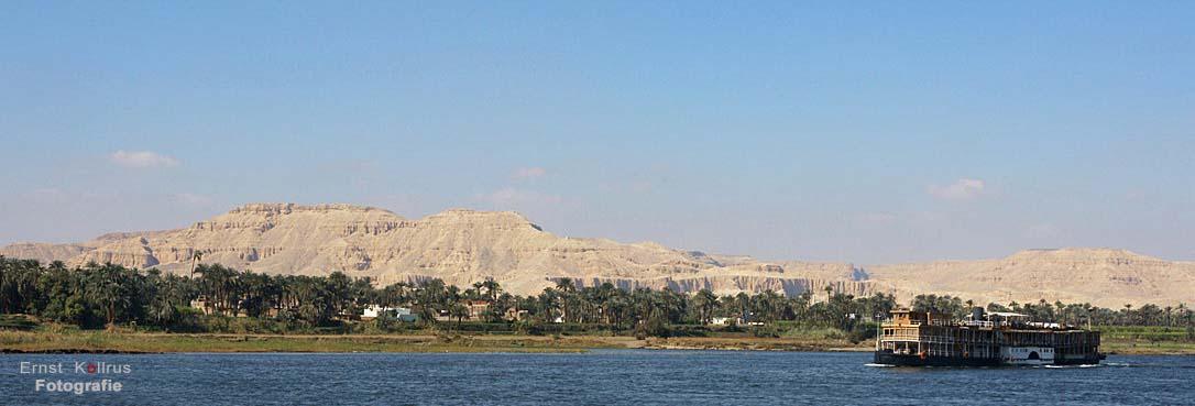 Die MS Sudan auf dem Nil